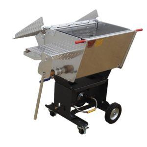 Louisiana Wild Crawfish Boiler 30inch Front Lid Open